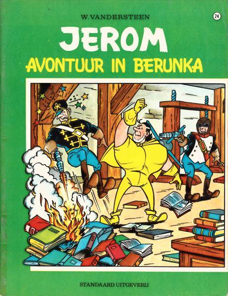 Jerom 24 Avontuur in Berunka