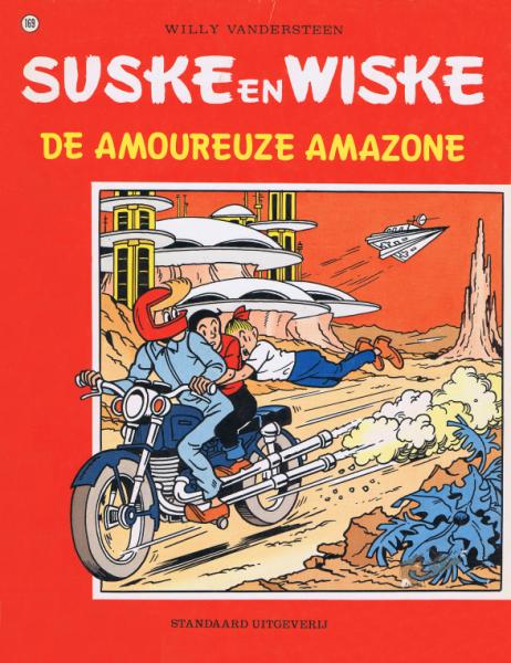 Suske en Wiske 169 De amoureuze amazone