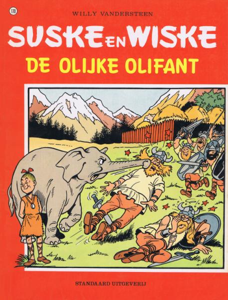 Suske en Wiske 170 De olijke olifant