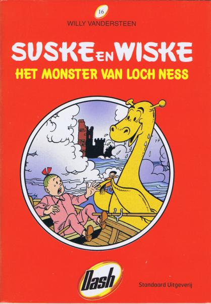 Suske en Wiske (Dash reclame) 16 Het monster van Loch Ness/Le monstre du Loch Ness