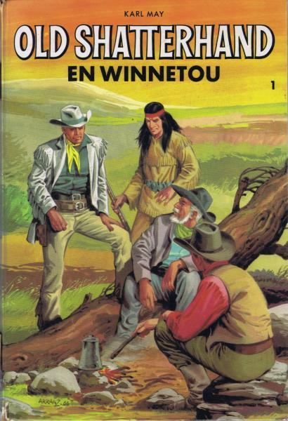 Winnetou (De Spaarnestad) 3 Old Shatterhand en Winnetou