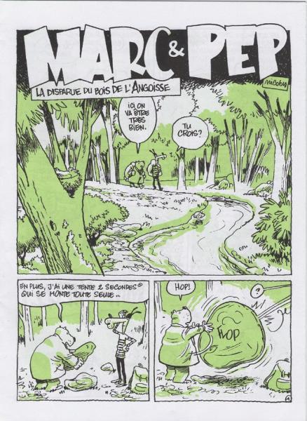 Marc et Pép' comix 1 La disparue du bois de l'angoisse