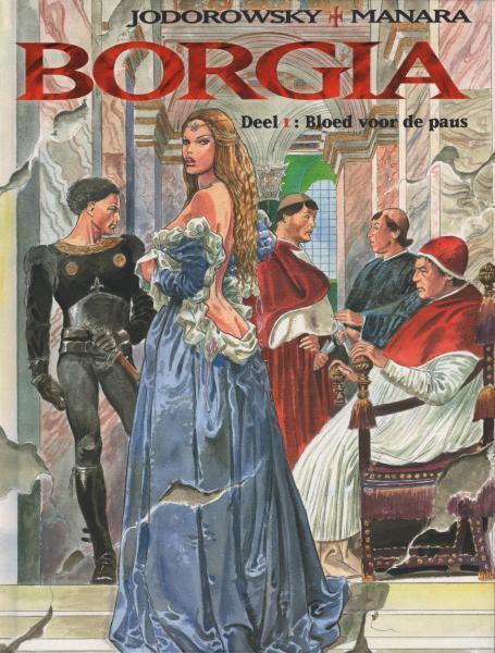 Borgia 1 Bloed voor de paus