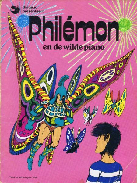 Philémon (Dargaud - Nederlandse nummering) 2 Philemon en de wilde piano
