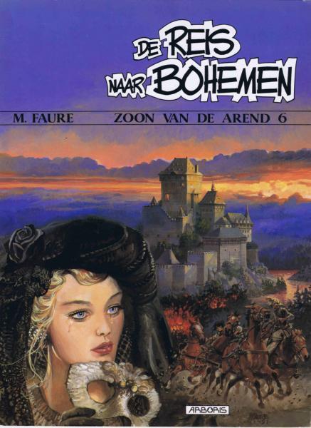 De zoon van de arend 6 De reis naar Bohemen