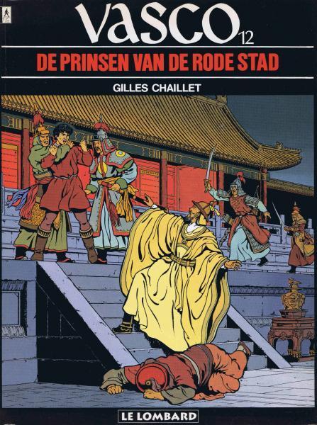Vasco (Nederlands) 12 De prinsen van de Rode Stad