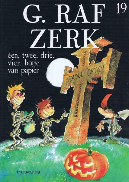 G. Raf Zerk 19 Een, twee, drie, vier, botje van papier