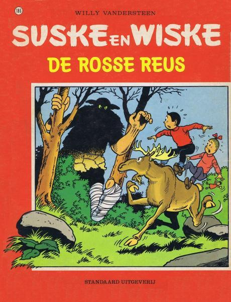 Suske en Wiske 186 De rosse reus