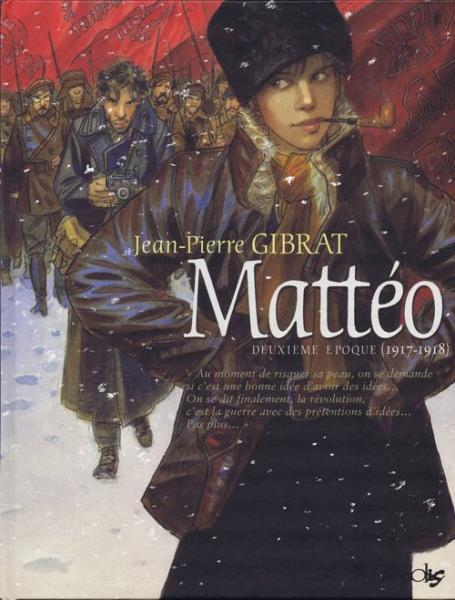 Mattéo 2 Deuxième époque (1917-1918)
