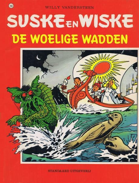 Suske en Wiske 190 De woelige wadden