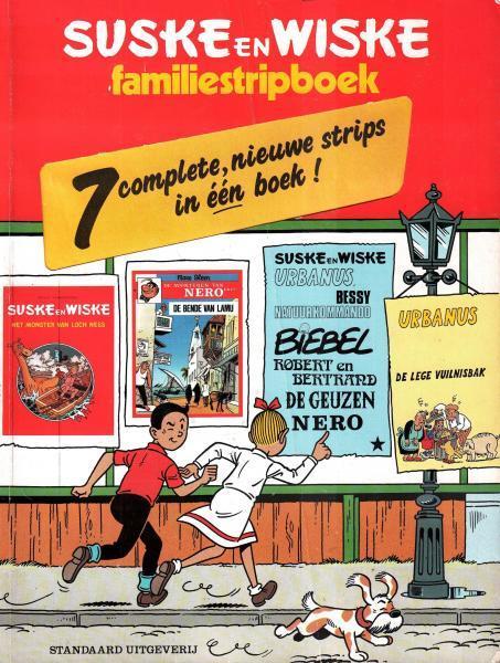 Suske en Wiske familiestripboek 1 Familiestripboek