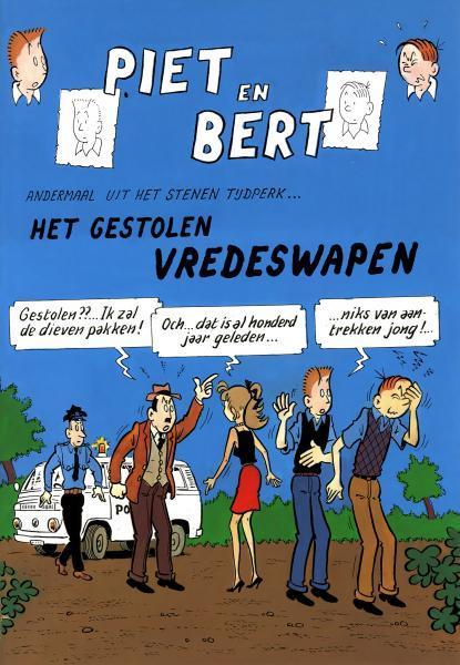 Piet Pienter en Bert Bibber S3 Het gestolen vredeswapen