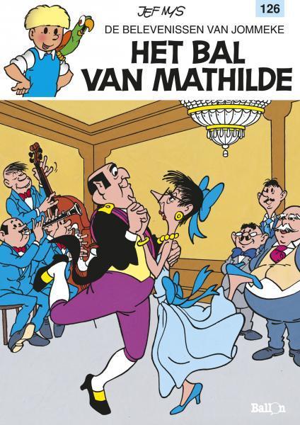 Jommeke 126 Het bal van Mathilde