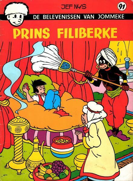 Jommeke 91 Prins Filiberke