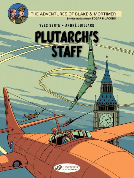 Blake & Mortimer (Cinebook) 21 Plutarch's Staff