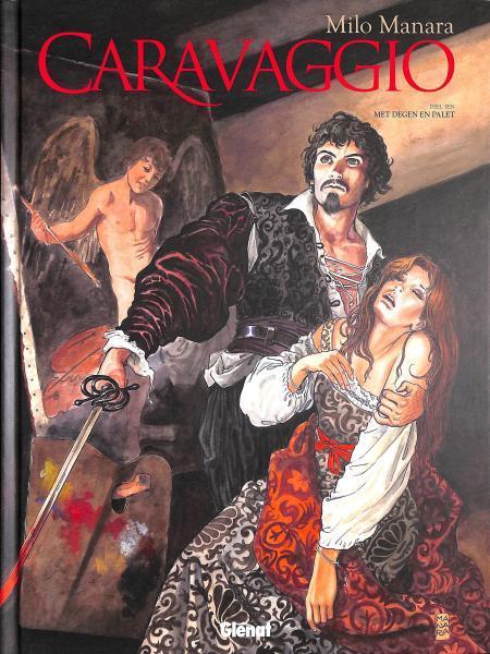 Caravaggio 1 Met degen en palet