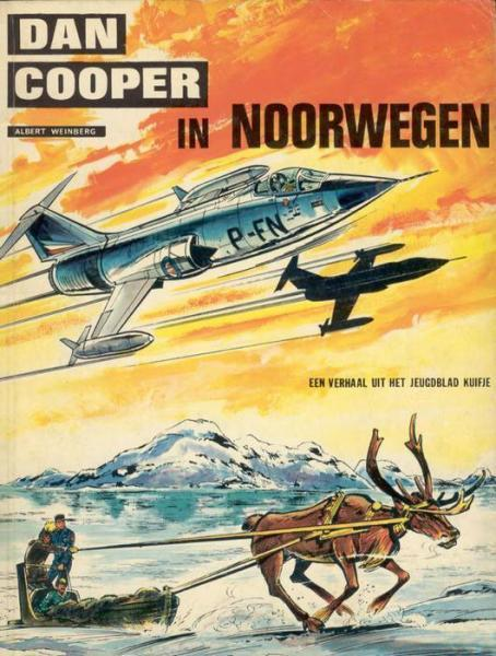 Dan Cooper 17 Dan Cooper in Noorwegen
