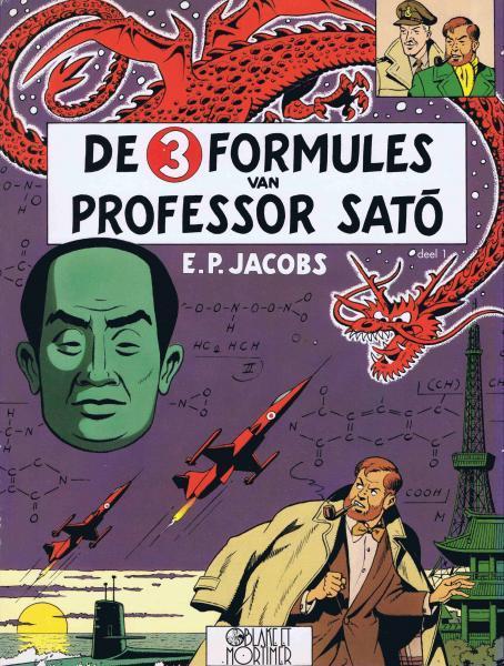 Blake en Mortimer 11 De 3 formules van Professor Satõ, Deel 1