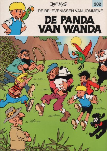 Jommeke 202 De panda van Wanda