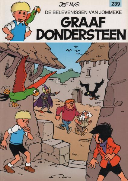 Jommeke 239 Graaf Dondersteen