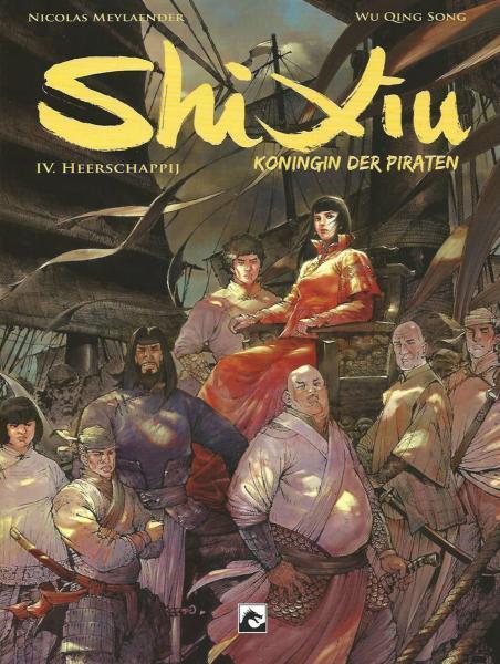 Shi Xiu 4 Heerschappij