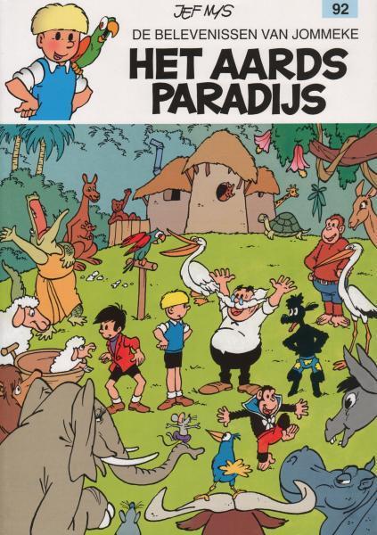 Jommeke 92 Het aards paradijs