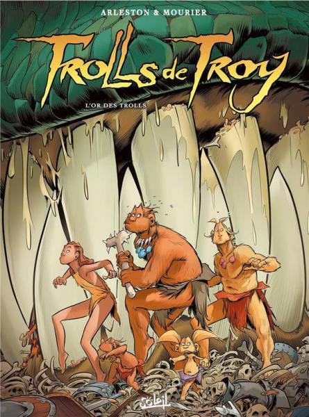 Trollen van Troy 21 L'or des trolls