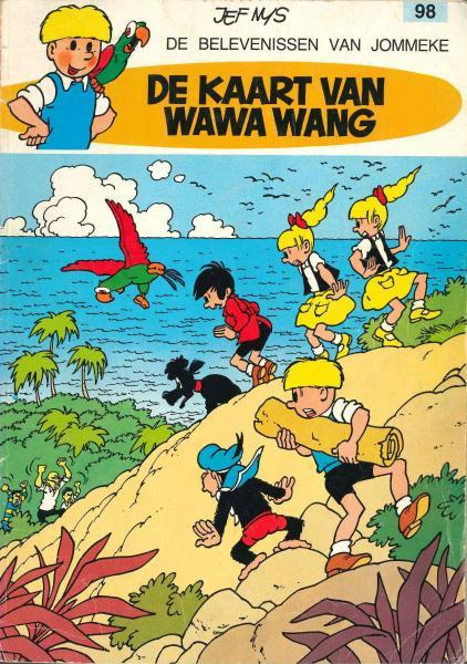 Jommeke 98 De kaart van Wawa Wang