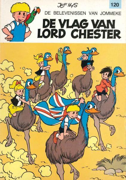 Jommeke 120 De vlag van Lord Chester