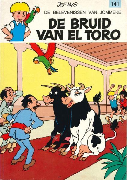 Jommeke 141 De bruid van El Toro