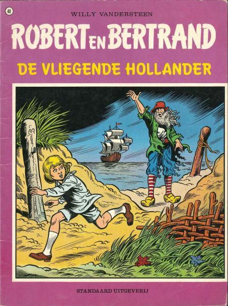 Robert en Bertrand 40 De Vliegende Hollander