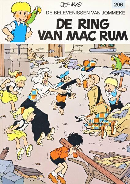 Jommeke 206 De ring van Mac Rum