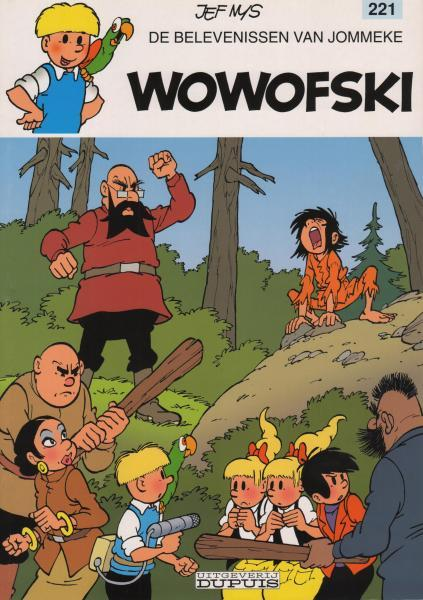 Jommeke 221 Wowofski