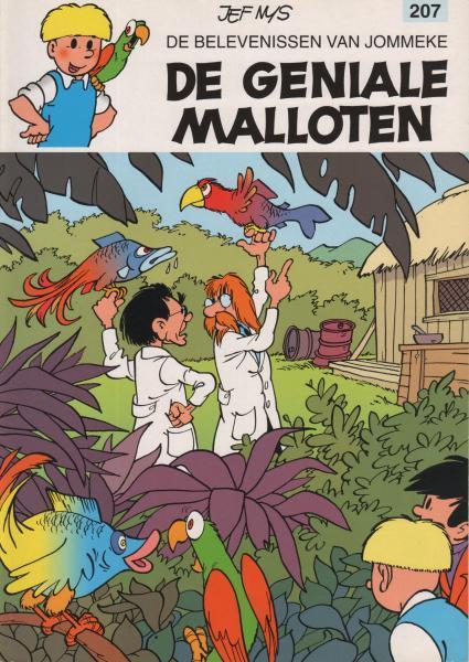 Jommeke 207 De geniale Malloten