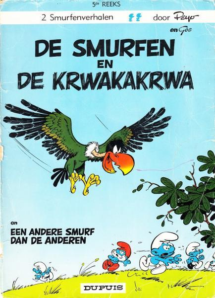 De Smurfen 5 De Smurfen en de Krwakakrwa