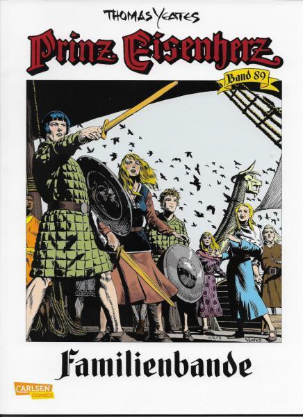 Prinz Eisenherz (Carlsen Comics) 89 Familienbande