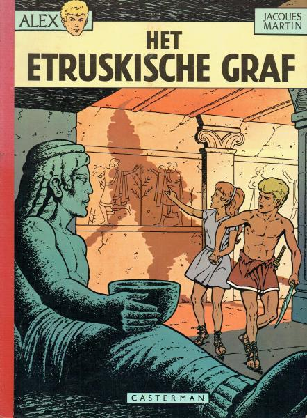 Alex 8 Het Etruskische graf