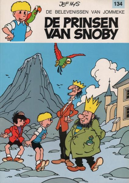 Jommeke 134 De prinsen van Snoby