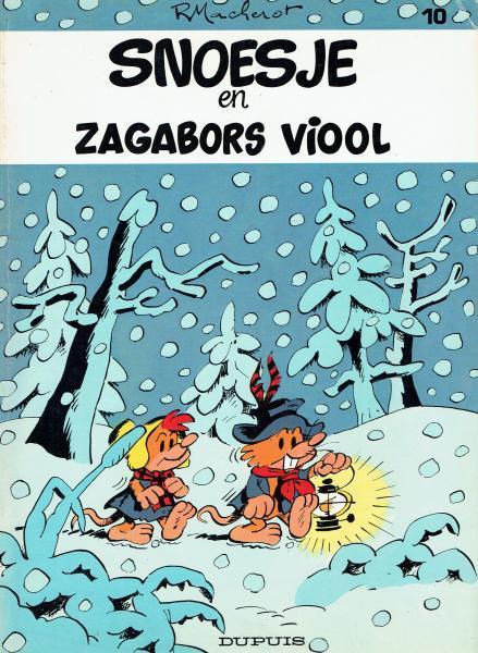Snoesje 10 Snoesje en Zagabors viool
