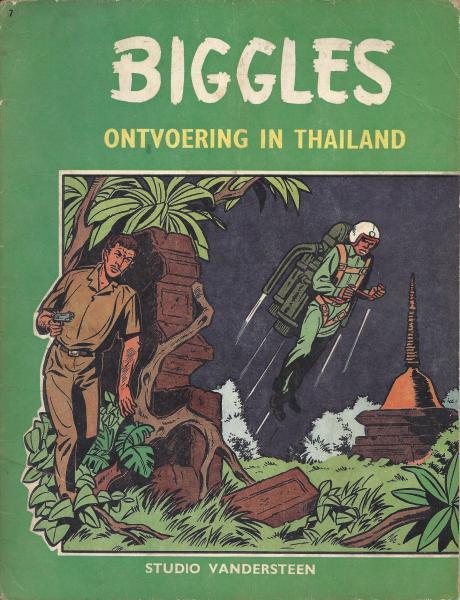 Biggles (Studio Vandersteen) 7 Ontvoering in Thailand