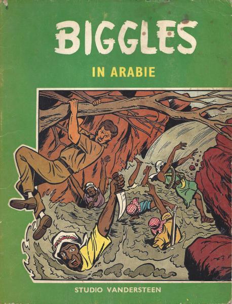 Biggles (Studio Vandersteen) 6 In Arabië