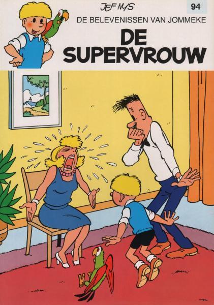 Jommeke 94 De supervrouw