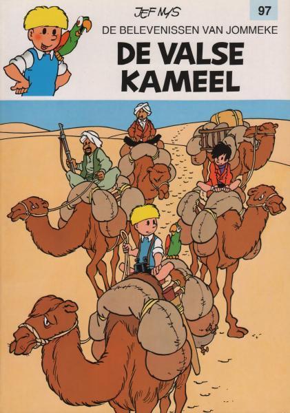 Jommeke 97 De valse kameel