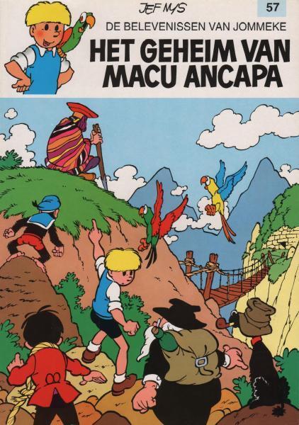 Jommeke 57 Het geheim van Macu Ancapa