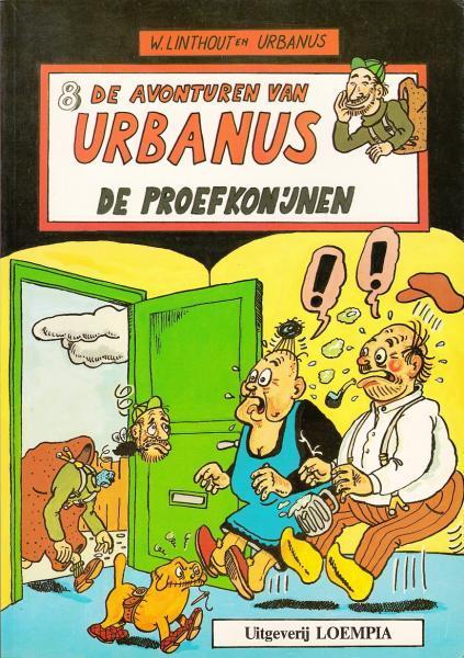 Urbanus 8 De proefkonijnen
