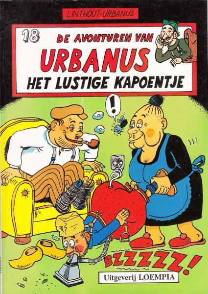Urbanus 18 Het lustige kapoentje