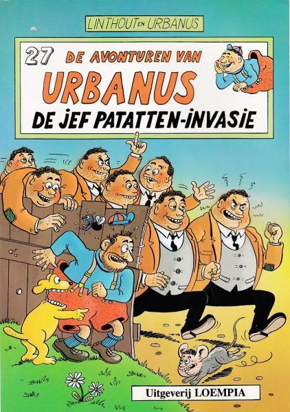 Urbanus 27 De Jef Patatten-invasie