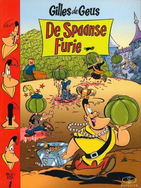 Gilles de Geus 1 De Spaanse furie