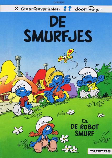 De Smurfen 13 De smurfjes / De robotsmurf