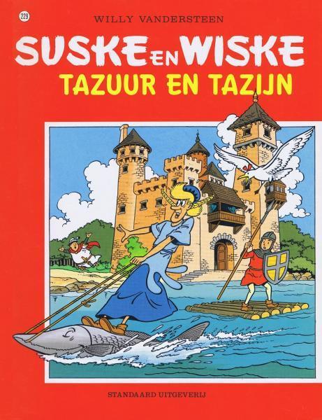 Suske en Wiske 229 Tazuur en Tazijn